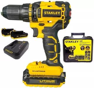 Taladro Atornillador Stanley Sbd201s2k 20v Brusheless 13mm