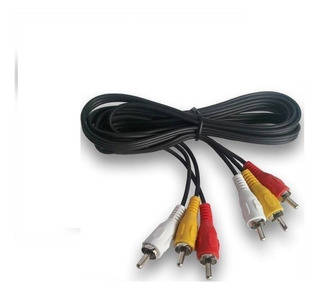 Cable Audio Video Tv Decodificador Dvd Av Compuesto Vcr Caba