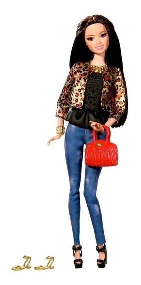 Barbie Style Luxo Raquelle Leopard Dois Pares De Sapato 2015
