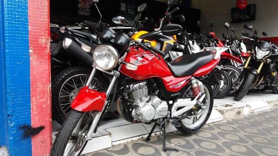 Suzuki Gsr 150 Ano 2013 Vermelha Shadai Motos