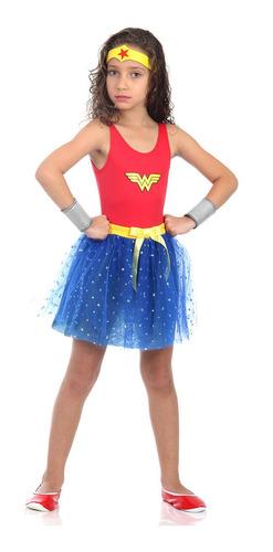 Fant Mulher Maravilha Dress Up