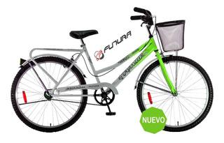 Bicicleta Urbana Futura R 26 Full Dama Mandy Hogar