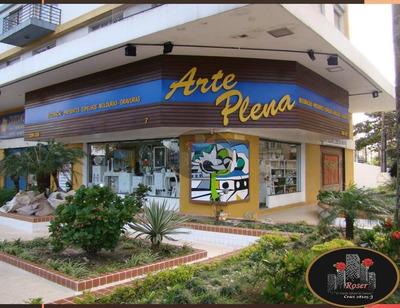 Excelente Ponto Comercial - Loja Comercial Para Venda E Locação, Boqueirão, Santos. - Lo0012