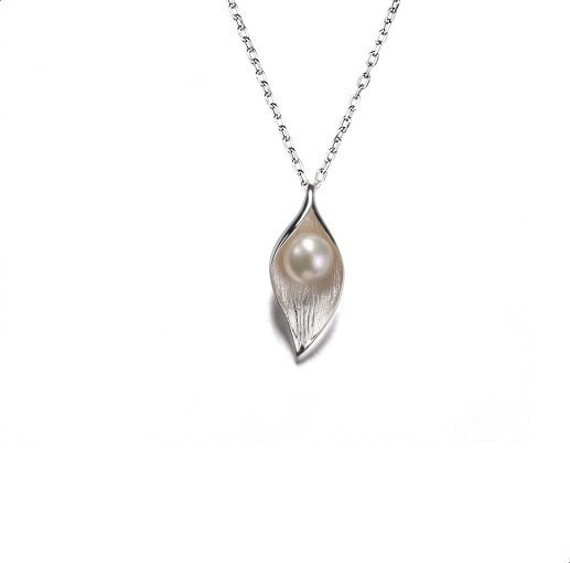 Collar Perla Genuina Cultivada Agua Dulce Plata 925 Regalo