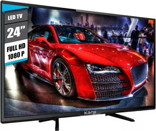 Monitor Tv Led 24 Kanji Full Hd 1080p Hdmi Vga Rca Gamer