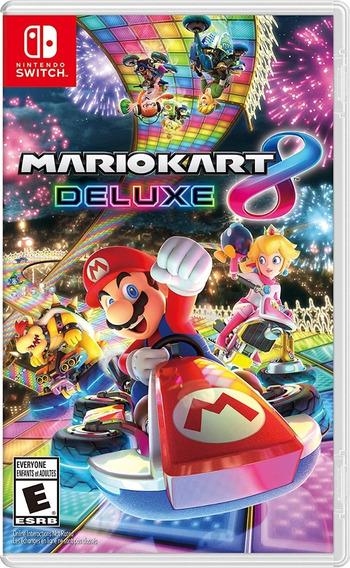 Jogo Nintendo Switch Mariokart 8 Deluxe Game Nintendo Switch
