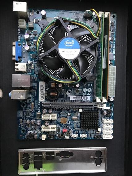 Placa Mãe H61 + I3 3240 + 4gb De Memoria