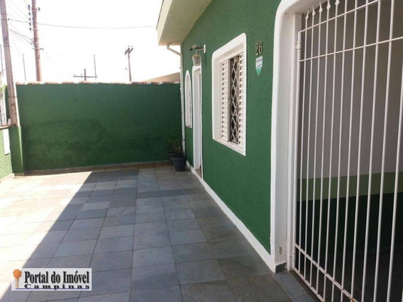 Casa Residencial À Venda, Vila Itália, Campinas. - Ca0195