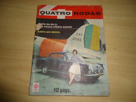 Revista Quatro Rodas Nº.9 Ano 1961 - Envio Grátis