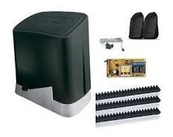 Kit Motor Deslizante Rio 1/4hp 300kg Ppa Completo 2controles