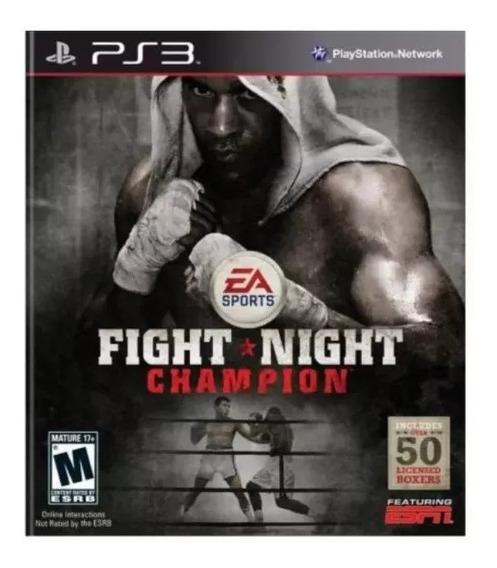 Fight Night Champion Ps3 Jogo Psn Original Envio