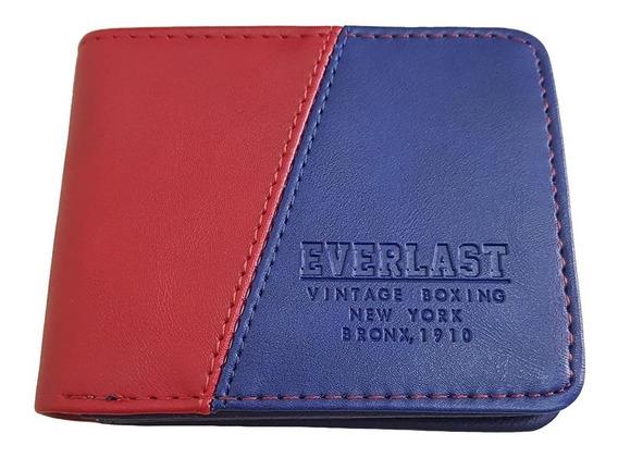Única Billetera Everlast Vintage Boxing Original Cuero Pu