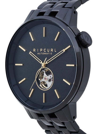 Relógio Rip Curl Detroit Automatic A3114 A328 Midnight Gold