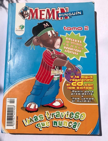 Comic Mexicano Memin Pinguîn Antologia 11 Al 20