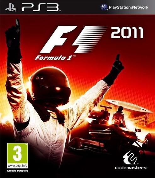 F1 2011 (dublado) Ps3 - Leia Descrição