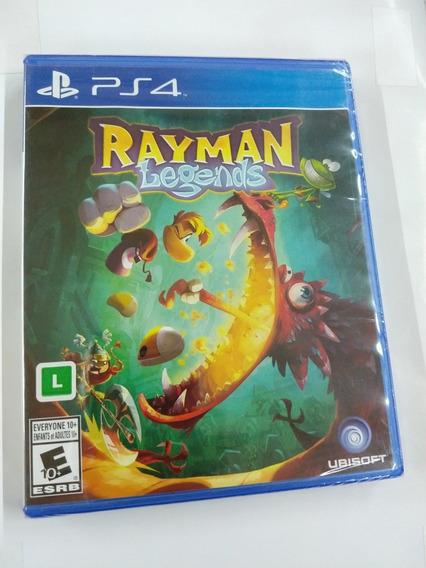 Rayman Legends Ps4 Midia Fisica Lacrado