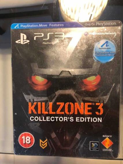 Jogo Do Ps3 Killzone 3 (collectors Edition)