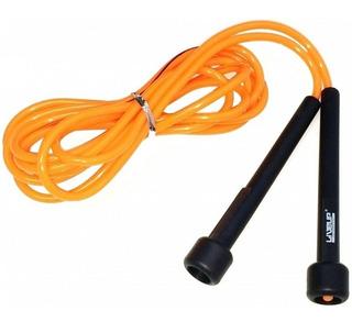 Corda De Pular Em Silicone 2,65m Laranja - Liveup Ls3115o