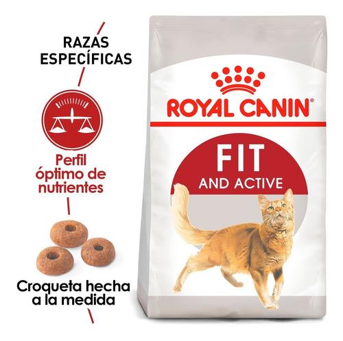 Imagen 1 de 2 de Alimento Para Gato Royal Canin Fit De 3.18kg
