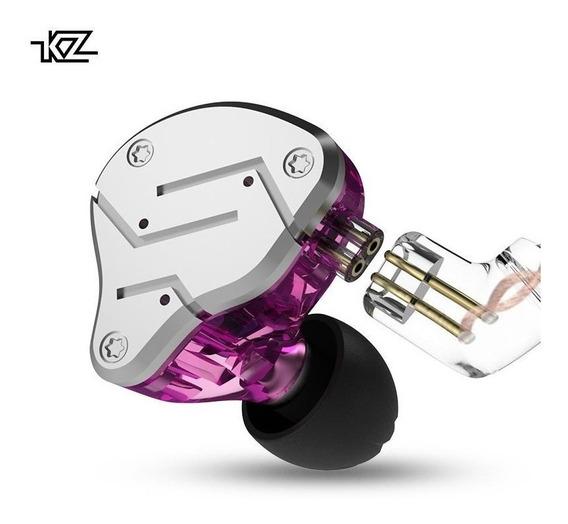 Fone Kz Zsn Pro S/ Mc + Espuma De Memória