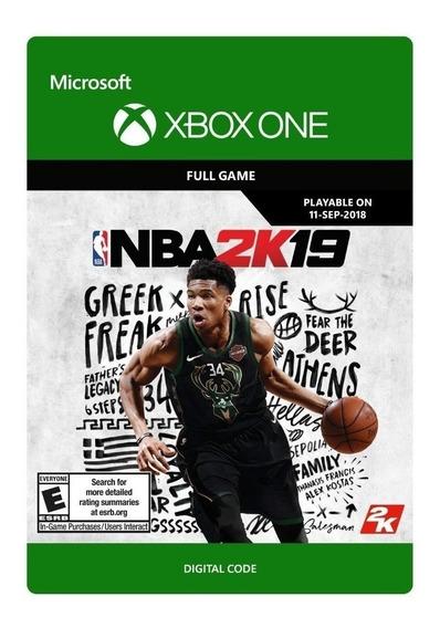 Nba 2k19 - Xbox One - Código 25 Dígitos