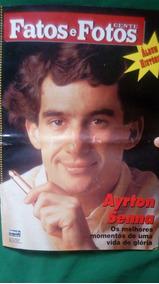 Revista Fatos E Fotos Edição Ayrton Senna