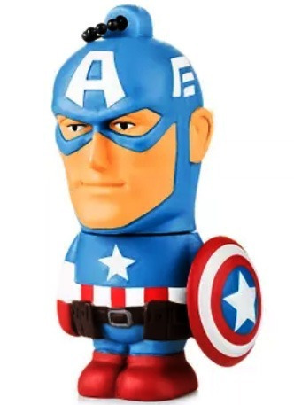 Pen Drive Avengers Marvel Vingadores - Capitao America - 8gb