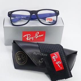f73e93668 Oculos Masculino Grau Quadrado - Óculos Azul no Mercado Livre Brasil
