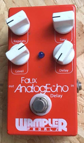 Pra Vender!!! Wampler Faux Analog Echo Delay Pedal