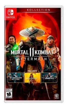 Juego Nintendo Switch Mortal Kombat Aftermath - Latam Tk257