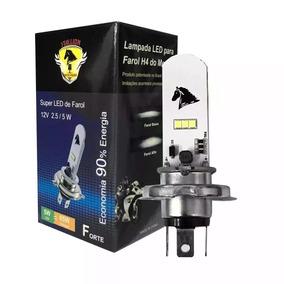 Lampada Super Led H4 Efeito Xenon 8000k Titan-fan-ybr-xre-tw