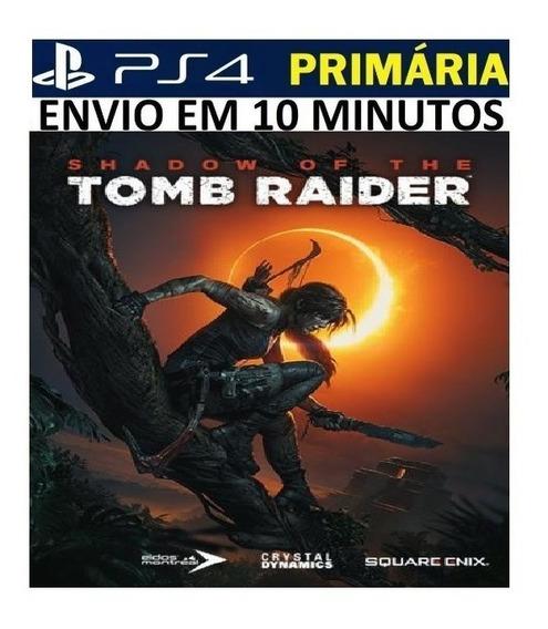 Jogo Shadow Of The Tomb Raider Ps4 Original Primário