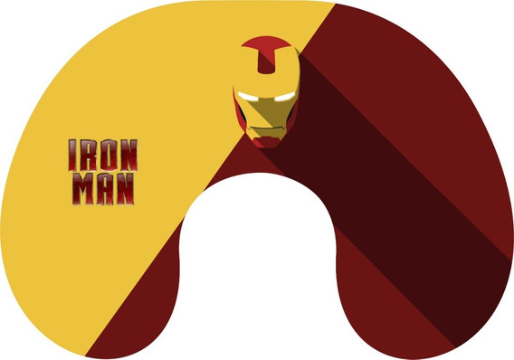 Cuello Viaje Relax Regalo Iron Man