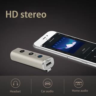 Receiver Bluetooth Carro Wireless Adaptador P/falante Prata