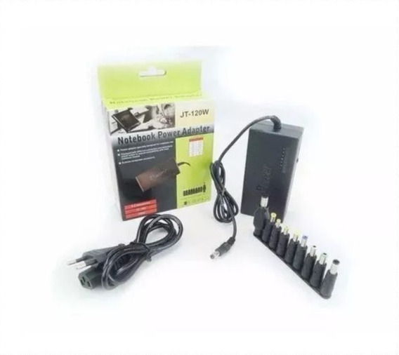 Kit 10 Fonte Carregador Universal Notebook Adaptador