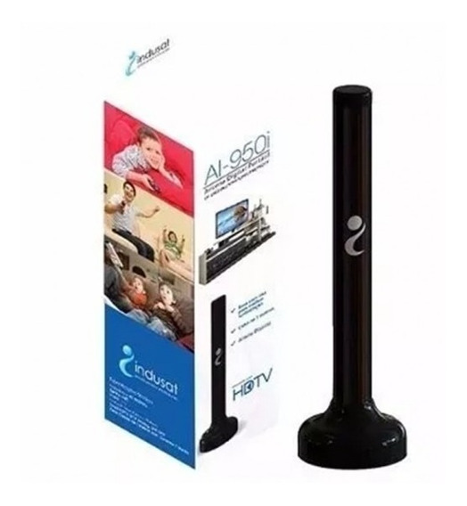 Antena Tv Digital Portatil Ai-950i Com Cabo 5 Metros