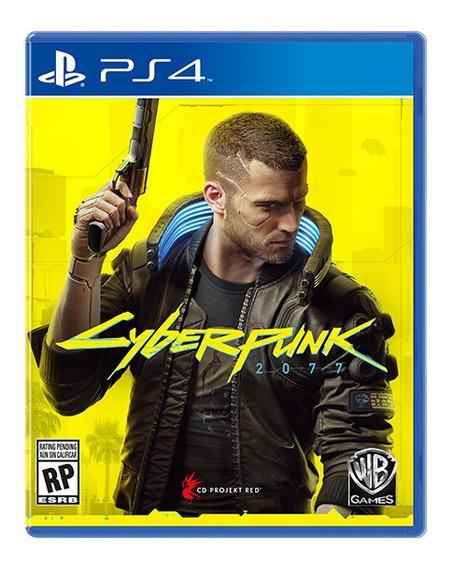 Cyberpunk 2077 Ps4 Juego Fisico Original Sellado Cd Nuevo