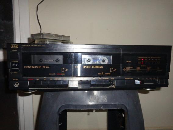 Tape Deck Cce Dx-18 - No Estado