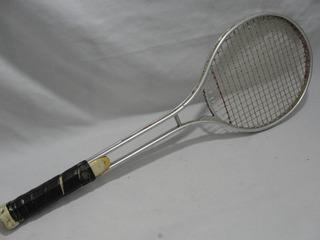 Antiga Raquete Tenis Aluminio Anos 70 Mede 69cm