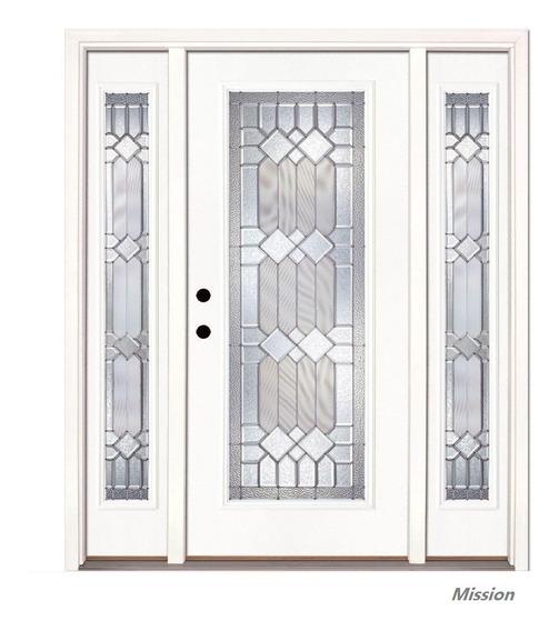 Puerta Principal Moderna Fibra De Vidrio Americana Importado