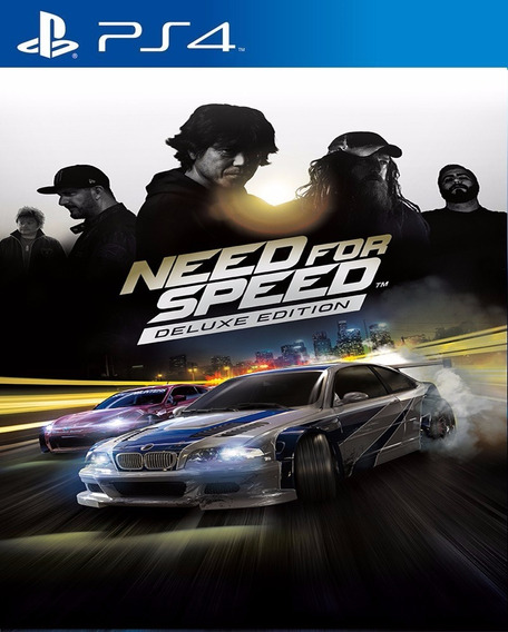 Need For Speed 2015 Ps4 Psn Deluxe Code 1 Envio Na Hora