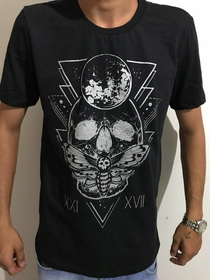 Camiseta - Caveira Xxi Xvii