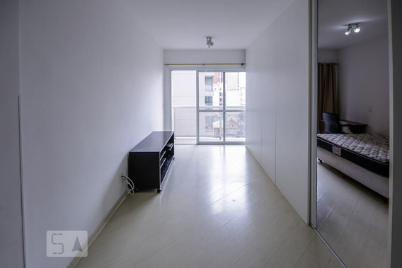 Apartamento No 6º Andar Mobiliado Com 1 Dormitório E 1 Garagem - Id: 892967640 - 267640