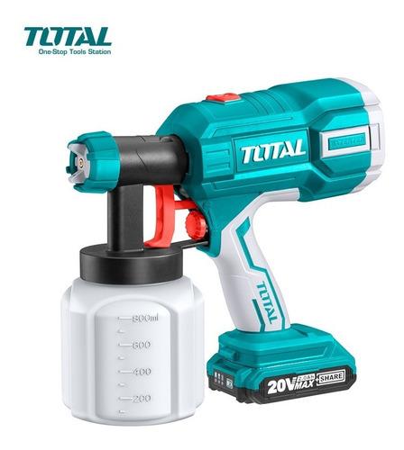 Equipo Para Pintar Inalambrico A Bateria 20v Total Tsgli2001