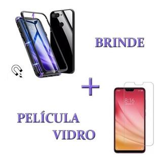Capinha Capa Case Magnetica Ima Celular Xiaomi Mi8 Lite
