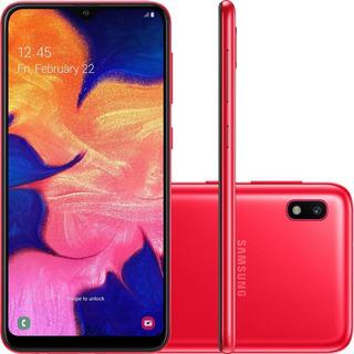 Celular Samsung A105m Galaxy A10 Dual Tela 6.2 32gb Vermelho