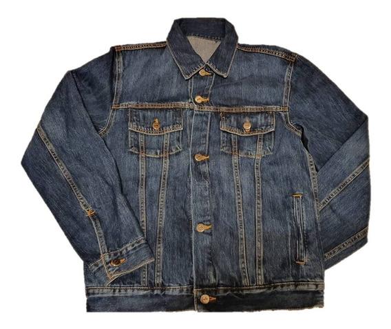 Chamarra Hombre Mezclilla Rocker Jacket Tmj01319-a