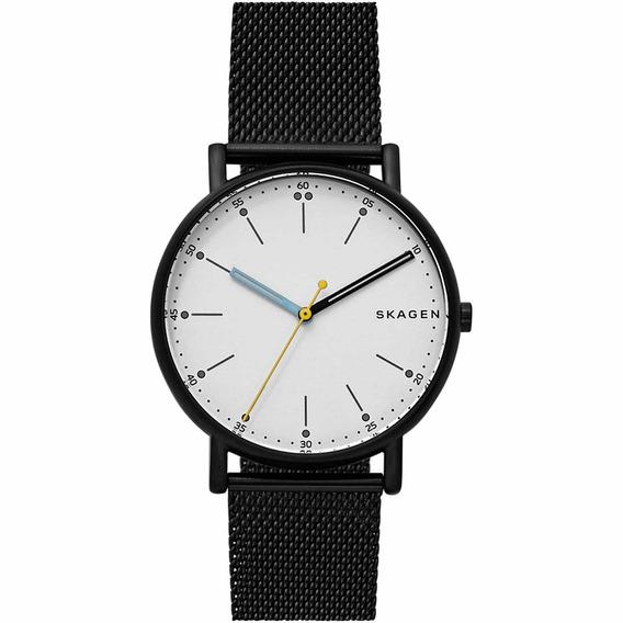 Relógio Skagen Masculino Slim Sapphire Analógico Skw6376/0cn