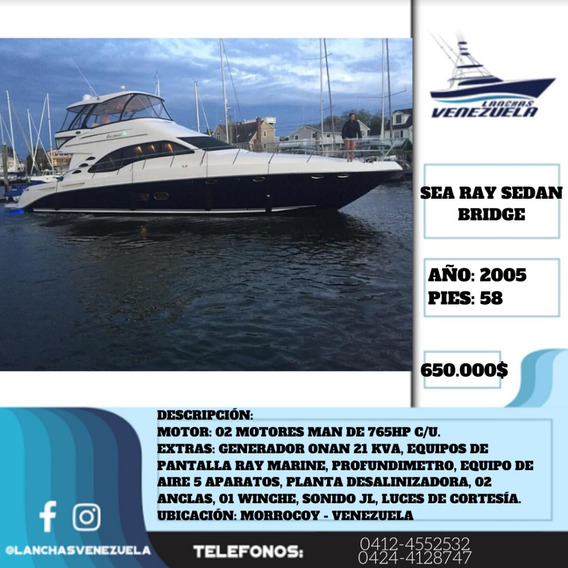Yate Sea Ray Sedan Bridge 58 Lv433