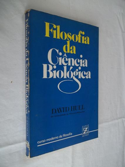 Livro - Filosofia Da Ciência Biológica - David Hull